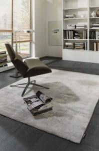 Teppich der Marke LUXOR Style uni creme-beige farbig von Reinkemeier