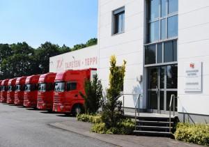 Eingangsfassade des Logistik Standortes Reinkemeier Rietberg