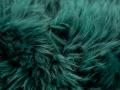 Schaffell Detailfoto dunkel gruen smaragd Reinkemeier