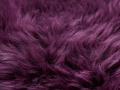 Schaffell Detailfoto lila violett Reinkemeier