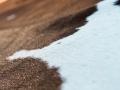 Rinderfell Fell Teppich braun beige Detail Reinkemeier