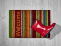 kokosmatte_Welcome_bunte_streifen
