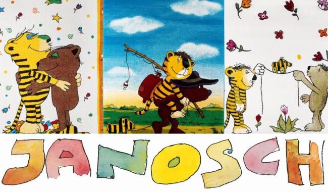 collage janosch tigerente kleiner baer teppiche news reinkemeier 650x380 - Janosch Tapete