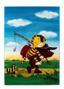Janosch Teppich Tigers Reise Kinderteppich von Reinkemeier