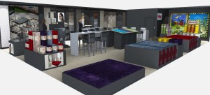 Messestand von Reinkemeier auf der ZEUS Messe 2015 - Konzeption Ladenbau Abteilung Reinkemeier