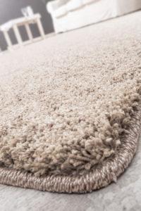 Teppich Wunschmass Programm Ambientebild Detailbild Raumbeispiel Teppich beige von Reinkemeier
